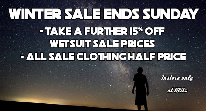 End of winter sale