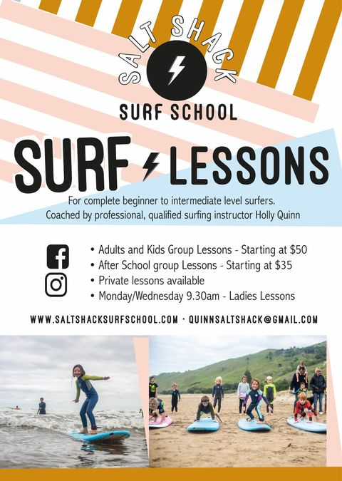 Salt Shack Surf Lessons