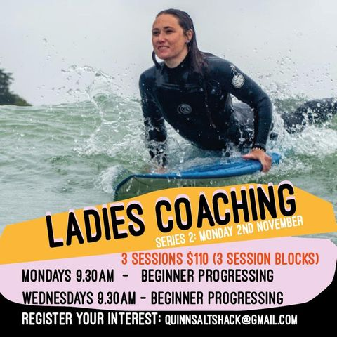 Sal Shack womens surfing lessons