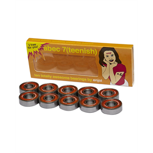 ENJOI ABEC 7 TEENISH 10PK BEARINGS-skate-Blitz Surf Shop