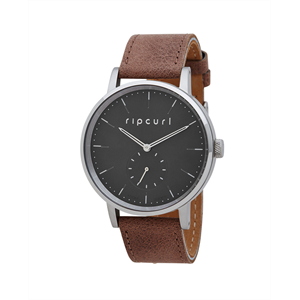 RIP CURL CIRCA LEATHER WATCH BLACK-accessories-Blitz Surf Shop