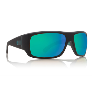 DRAGON VANTAGE MATTE BLK/GREEN ION P2-sunglasses-Blitz Surf Shop