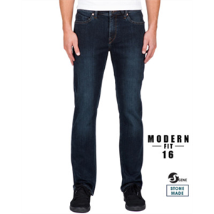 Win17 VOLCOM SOLVER DENIM JEANS-mens-Blitz Surf Shop