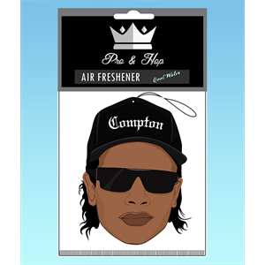 PRO AND HOP EASY-E COMPTON AIR FRESHENER-air fresheners-Blitz Surf Shop