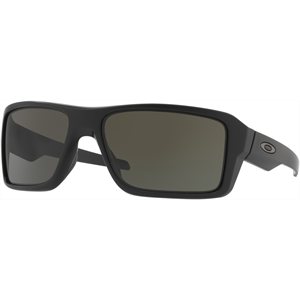 OAKLEY DOUBLE EDGE MTT BLK/GREY SUNGLASS-sunglasses-Blitz Surf Shop