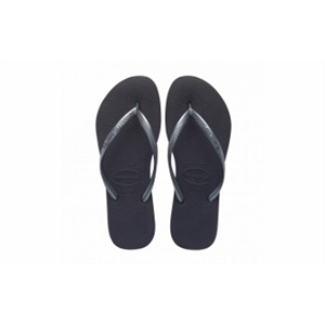 HAVAIANAS KIDS SLIM GREY/GRAPH JANDALS-footwear-Blitz Surf Shop