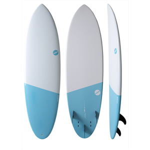 NSP ELEMENTS 5'6 HYBRID SURFBOARD-surf-Blitz Surf Shop