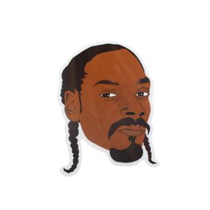 PRO AND HOP SNOOP DOGG STICKER
