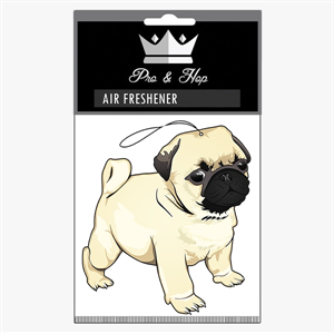 PRO AND HOP PUG AIR FRESHENER-air fresheners-Blitz Surf Shop