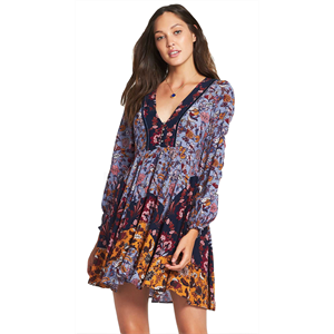 Win18 TIGERLILY PARADIS DRESS-womens-Blitz Surf Shop