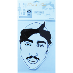 PRO AND HOP TUPAC LARGE STICKER-accessories-Blitz Surf Shop