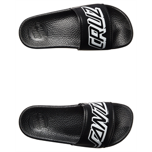 Sum18 SANTA CRUZ CLASSIC STRIP SLIDE-footwear-Blitz Surf Shop