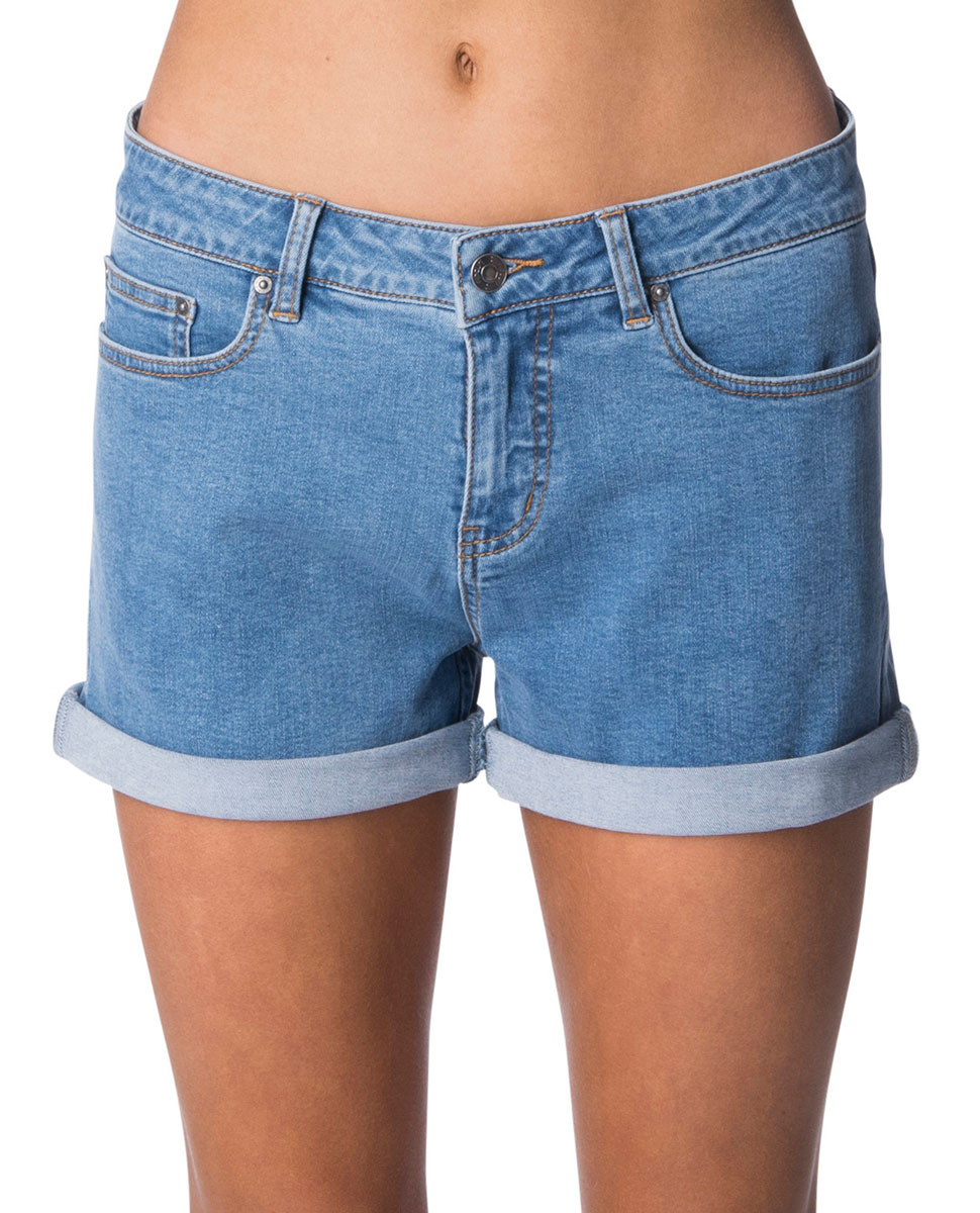 Sum18 RIPCURL CLASSIC 2 DENIM SHORT - Womens-Shorts   Blitz Surf Shop NZ -  Surf  e4936a89b