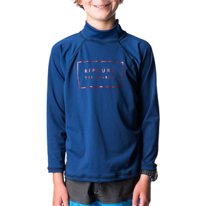 Sum18 RIP CURL BOYS VALLEY RELAXED LS-lycra-Blitz Surf Shop