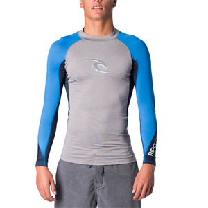 Sum18 RIP CURL WAVE L/SL UV TEE-wetsuits-Blitz Surf Shop