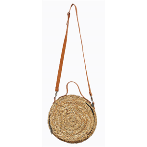 Sum18 RUSTY VALENTINA STRAW SIDEBAG-bags-Blitz Surf Shop