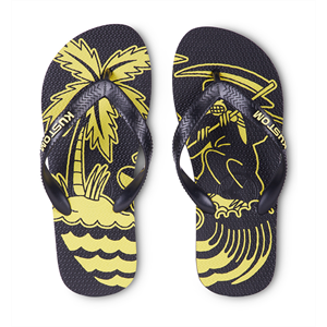 Sum18 KUSTOM BOYS BLEND BASE JANDALS-kids jandals-Blitz Surf Shop