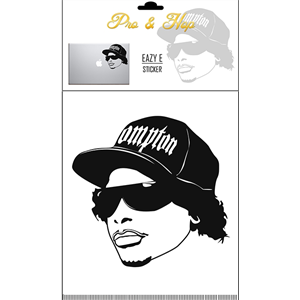 PRO AND HOP EAZY-E LARGE STICKER-accessories-Blitz Surf Shop