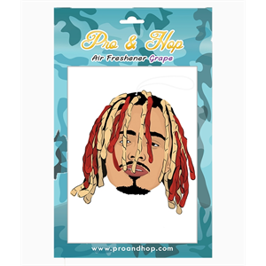 PRO AND HOP LIL PUMP AIR FRESHENER-air fresheners-Blitz Surf Shop