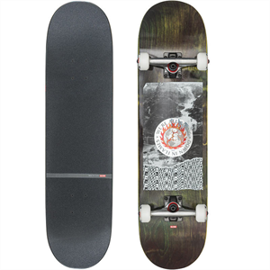 "GLOBE G2 IN FLAMES 7.75"" SKATEBOARD"