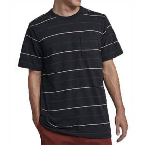 Sum18 HURLEY DRI FIT STRAYA STRIPE TEE-mens-Blitz Surf Shop