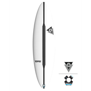 New Tomo Firewire Hydronaut - board for bigger, better waves 5-10 foot