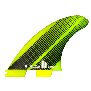 FCS II CARVER NEOGLASS LARGE TRI FIN SET-fins-Blitz Surf Shop