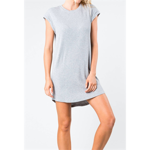 Sum18 RUSTY WINDFALL RIB TEE DRESS-dresses-Blitz Surf Shop