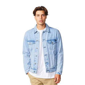 Win19 BARNEY COOLS B.RIGID DENIM JACKET-jackets-Blitz Surf Shop