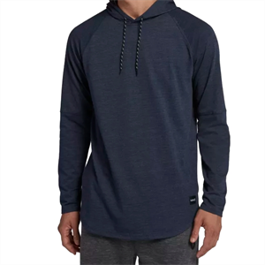 Win19 HURLEY DF GRANT HOODED LONG SLEEVE-mens-Blitz Surf Shop