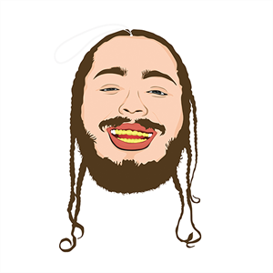 PRO AND HOP POST MALONE AIR FRESHNER -air fresheners-Blitz Surf Shop