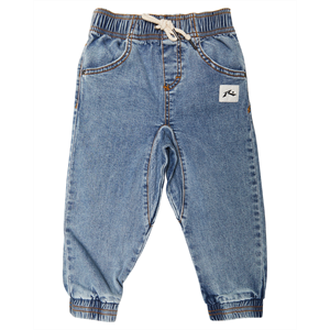 Win19 RUSTY BOYS BALLER DENIM PANTS-childrens-Blitz Surf Shop