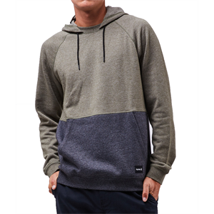 Win19 HURLEY CRONE BLOCKED POP FLEECE -mens-Blitz Surf Shop