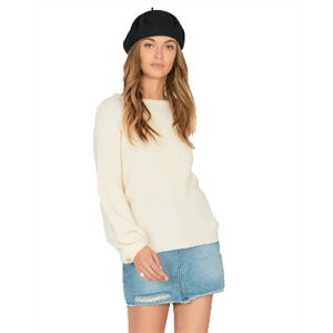 Win19 AMUSE RODAS KNIT SWEATER