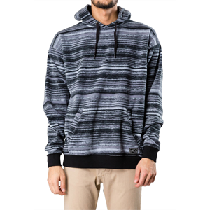 Win19 RUSTY HOOTA HOODED FLEECE-mens-Blitz Surf Shop