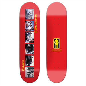 Girl x Beastie Boys collab special edition skateboard deck