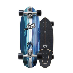 New Lost X Carver V3 Rocket surfskate