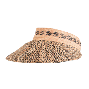 Sum19 RUSTY GISELE STRAW VISOR-womens-Blitz Surf Shop