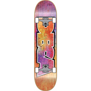DECA BRICK FADE MINI 7.0 SKATEBOARD-skate-Blitz Surf Shop