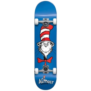 ALMOST CAT FACE 7.875 SKATEBOARD-skate-Blitz Surf Shop