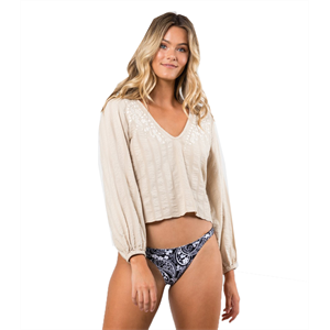 Sum19 RUSTY LUCIANA LONG SLEEVE SHIRT-womens-Blitz Surf Shop
