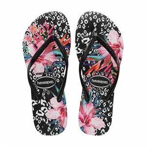 HAVAIANAS SLIM ANIMAL FLORAL 0090 JANDAL-footwear-Blitz Surf Shop