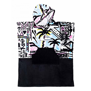 Sum19 QUIKSILVER KIDS HOODY TOWEL-wetsuits-Blitz Surf Shop