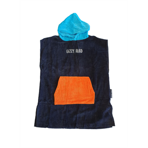 GIZZY HARD YOUTH HOODED TOWEL -wetsuits-Blitz Surf Shop