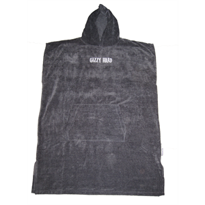GIZZY HARD HOODED TOWEL-wetsuits-Blitz Surf Shop