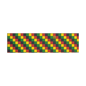 SUPERIOR RASTA CHECK GRIP TAPE SHEET-skate-Blitz Surf Shop