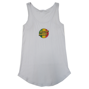 GIZZY HARD WOMENS FRONT TRIBUTE TANK-gizzy hard-Blitz Surf Shop
