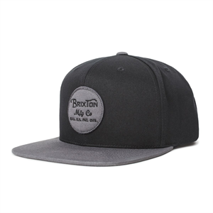 Win20 BRIXTON WHEELER SNAPBACK -mens-Blitz Surf Shop
