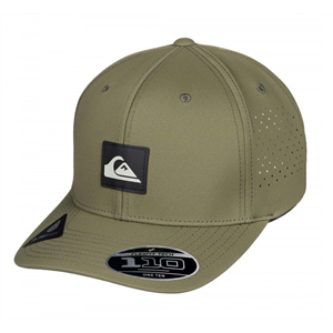 Win20 QUIKSILVER ADAPTED FLEXFIT CAP-mens-Blitz Surf Shop