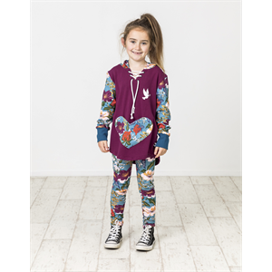 Win20 KISSED BY RADICOOL FLORAL LEGGINGS-childrens-Blitz Surf Shop